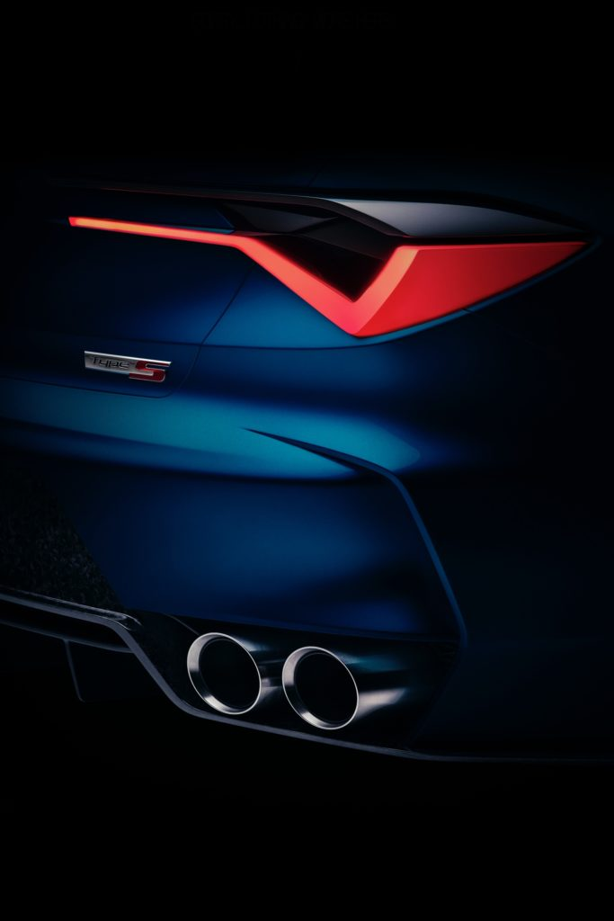 Acura Type S Concept Teaser