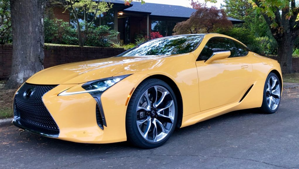 2019 Lexus LC 500 Review