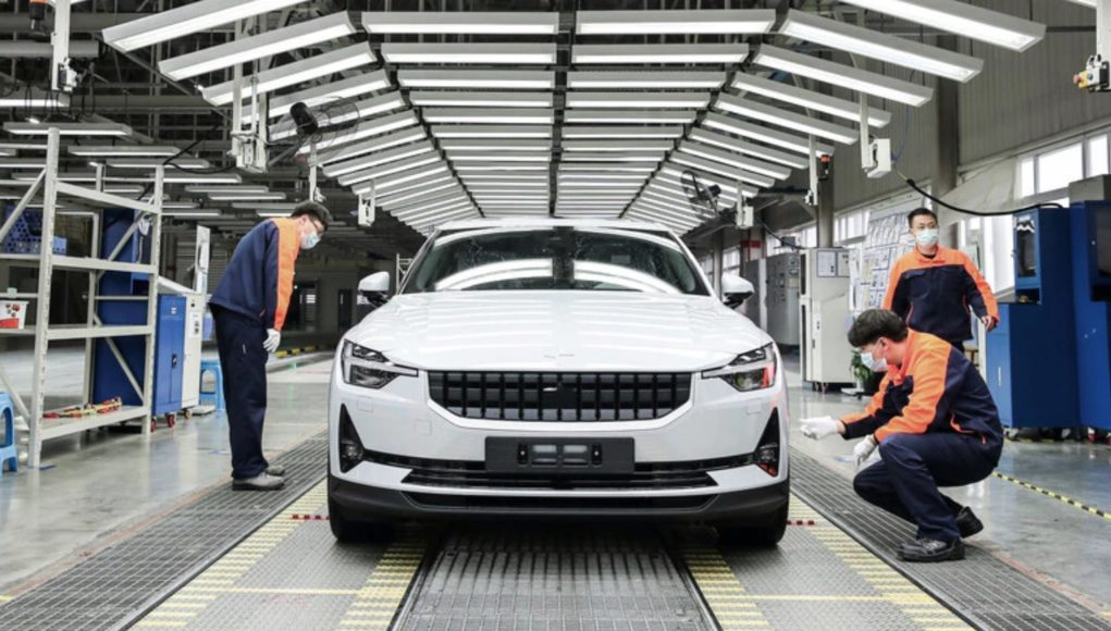 Polestar 2 Production