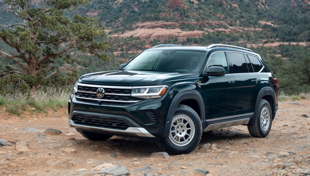 2021 VW Atlas with Basecamp accessories