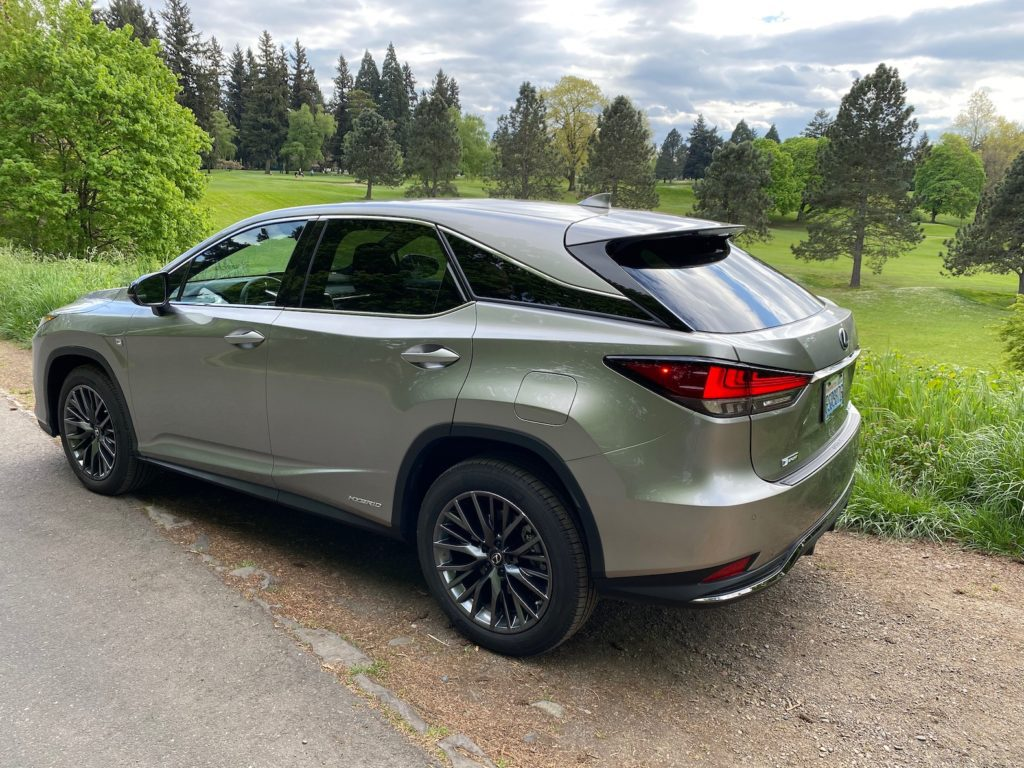 2020 Lexus LX 450h Review
