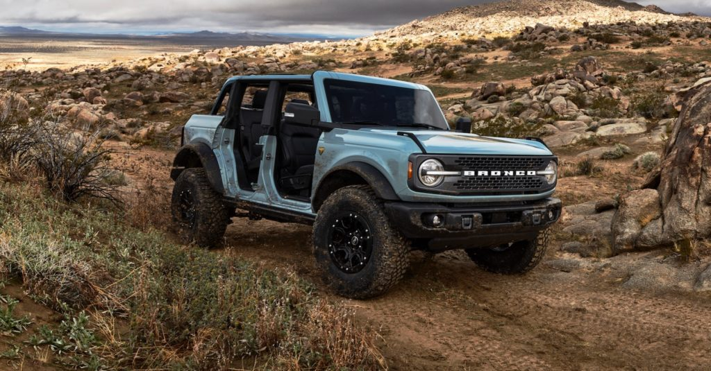 2021 Ford Bronco 4-Door