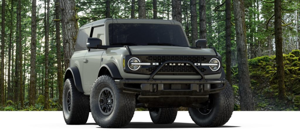 2021 Ford Bronco First Edition