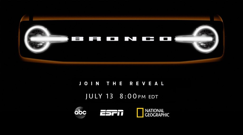 2021 Ford Bronco Reveal