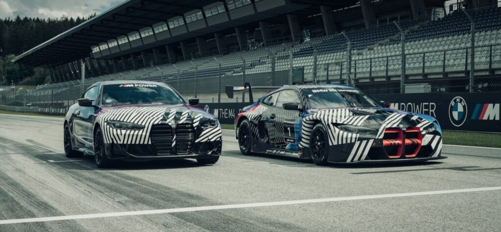 2021 BMW M4 and M4 GT3