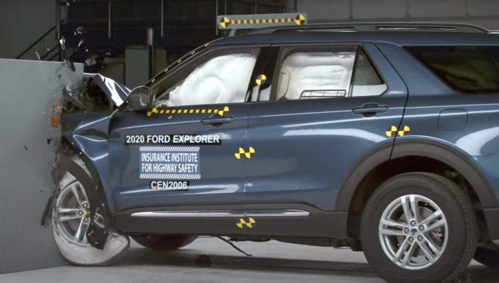 2020 Ford Explorer Top Safety Pick+