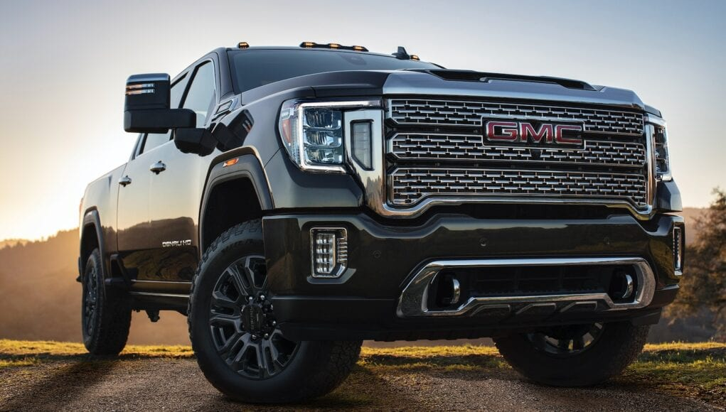 2021 GMC Sierra HD Denali Black Diamond Edition