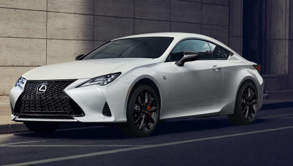 2021 Lexus RC Black Line Edition