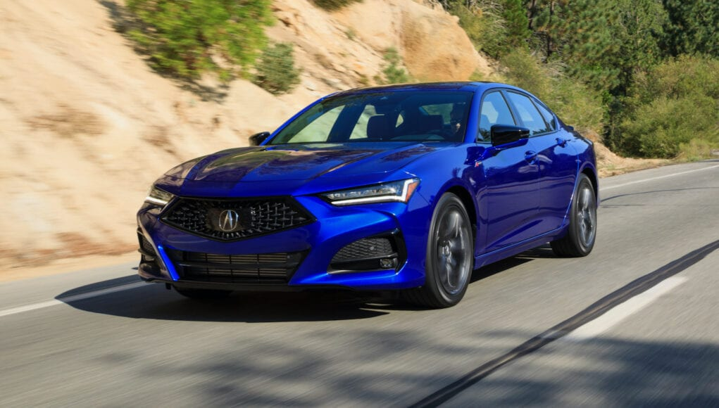2021 Acura TLX Review