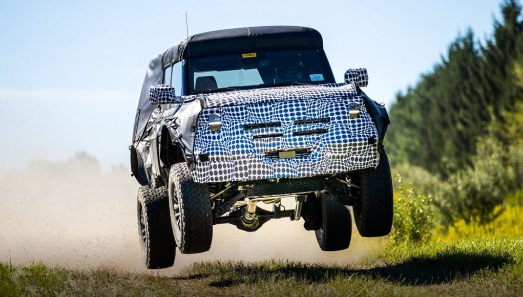 Ford Bronco Warthog or Raptor