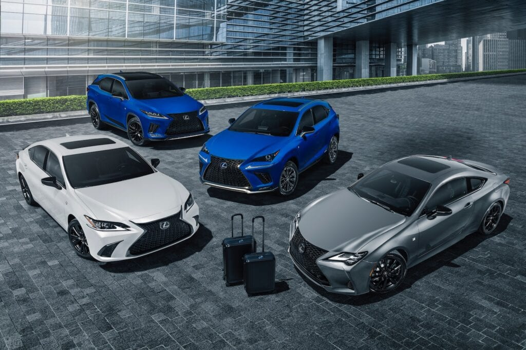 Lexus Black Line Family
