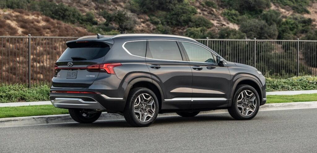 2021 Hyundai Santa Fe arrives with a new face and ...