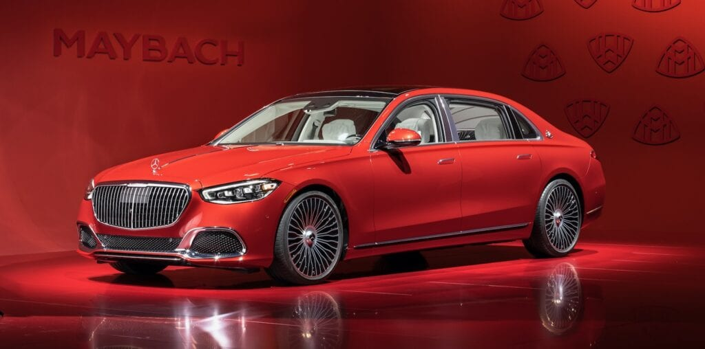 2021 Mercedes-Maybach S580
