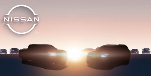 2022 Nissan Frontier and Pathfinder Teaser