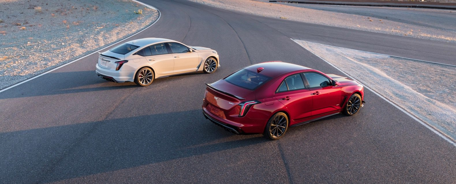 2022 Cadillac CT4-V Blackwing and CT5-V Blackwing