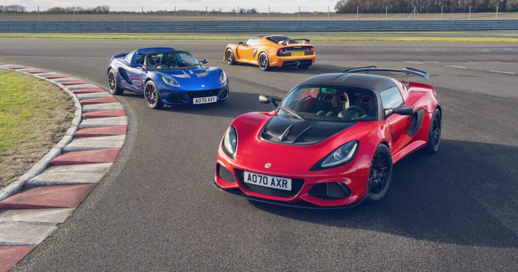 Lotus Elise and Exige Final Edition Models