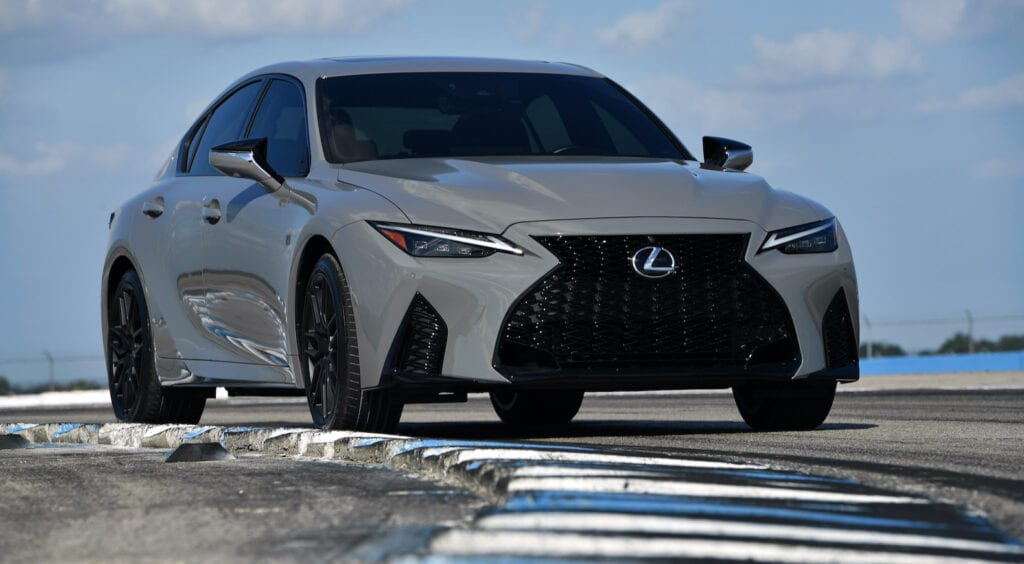 2022 IS 500 F Sport Performance Launch Edition