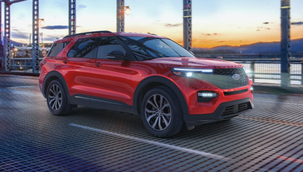 2021 Ford Explorer Enthusiast ST