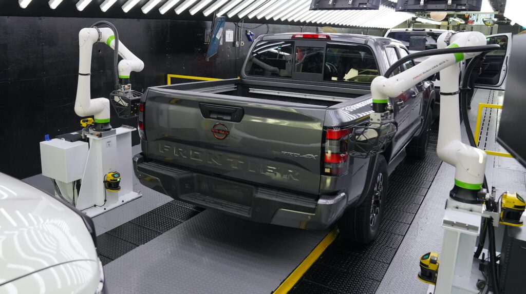 2022 Nissan Frontier Production