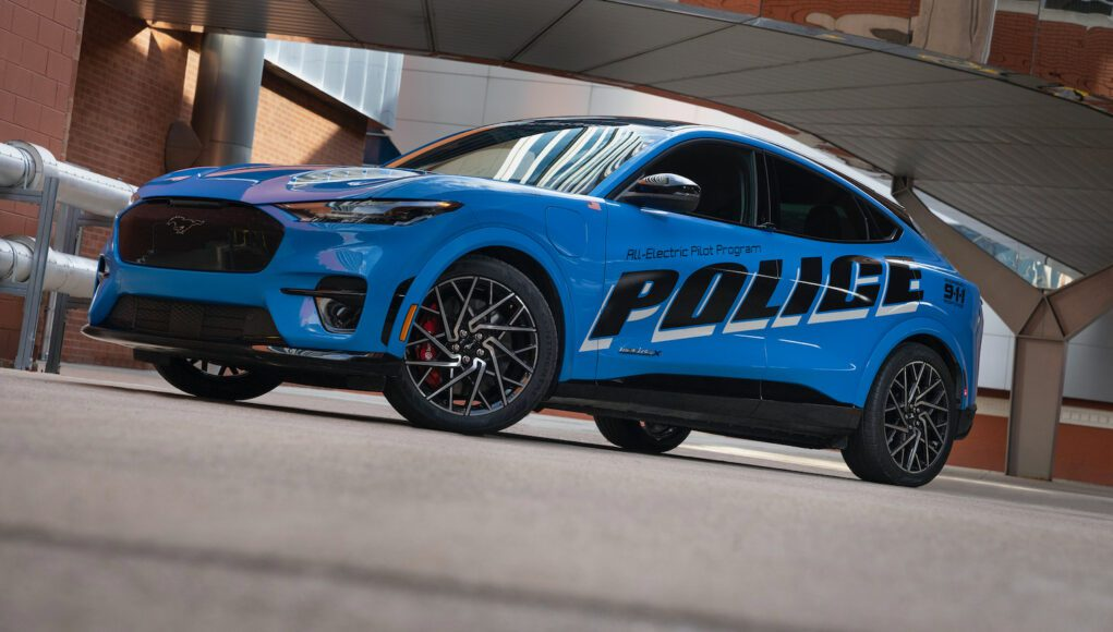 Ford Mustang Mach-E Police Car