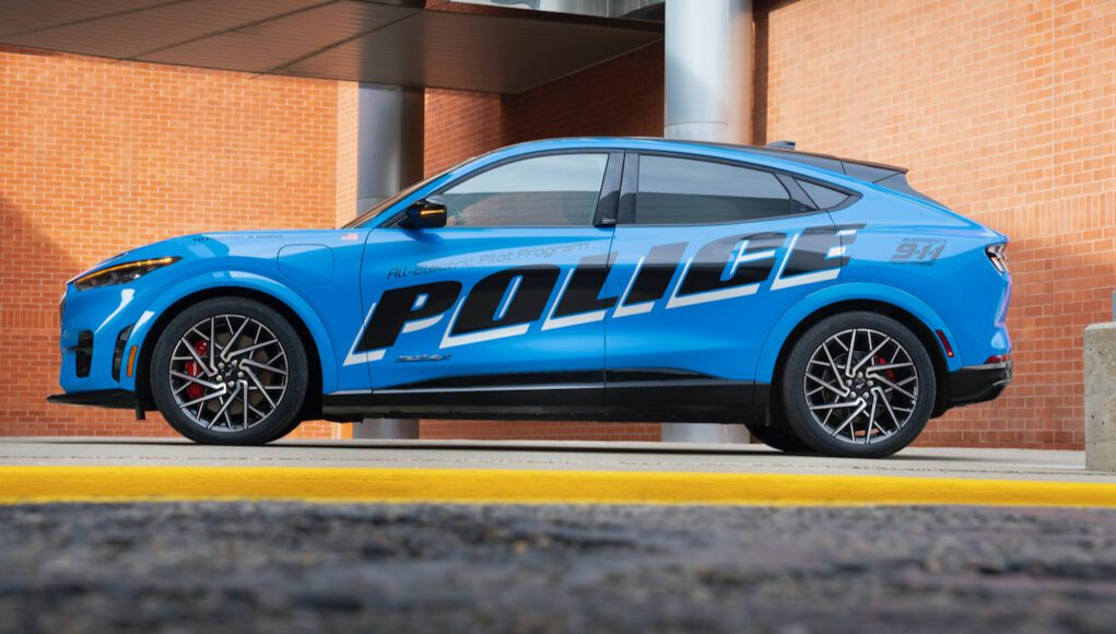 Ford Mustang Mach-E Police Cruiser